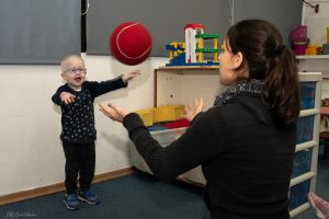 חינוך גופני ומשחקי פנאי וספורט לילדים עם לקות ראייה או עיוורון